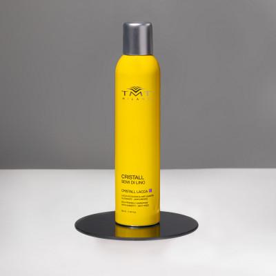 CRISTALL HAIR SPRAY жидкий лак-воск для волос с блеском 100 мл