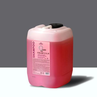 SHAMPOO COLOR SILK Шампунь для окрашенных волос с протеинами 5 л