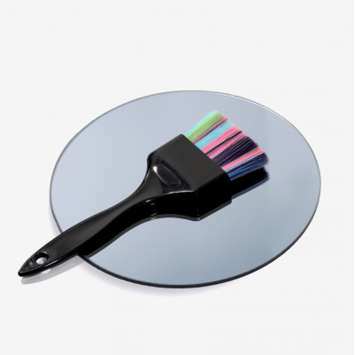 SHKALLI professional balayag Кисточка для окрашивания широкая (черная ручка, цветной ворс)