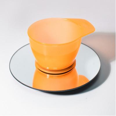 Мисочка для смешивания краски оранжевая