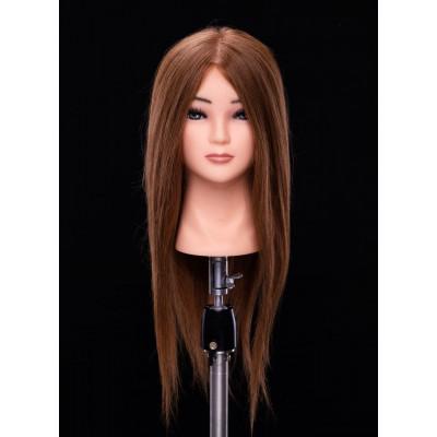 Манекен-голова женская  МНК-54  50 см ( русый)