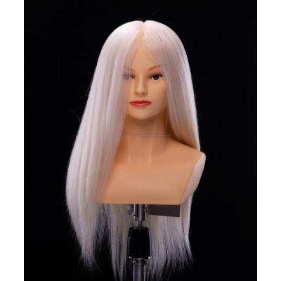 Манекен-голова женская YY Hair OMC 50 см (ультра блонд)