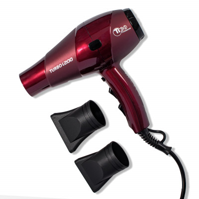 TICO фен для волос TURBO I200 2300W BORDO